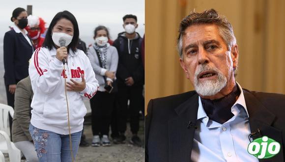 """""""Cuando hay dudas, el árbitro va al VAR y revisa"""": Keiko Fujimori responde a indirecta de Sagasti"""