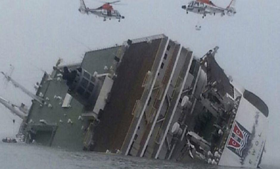 Corea del Sur: Se suicida sub director de escuela tras naufragio de ferry