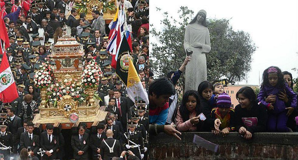 Santa Rosa de Lima: Cientos abarrotan Santuario en su día y piden deseos [FOTOS Y VIDEO]