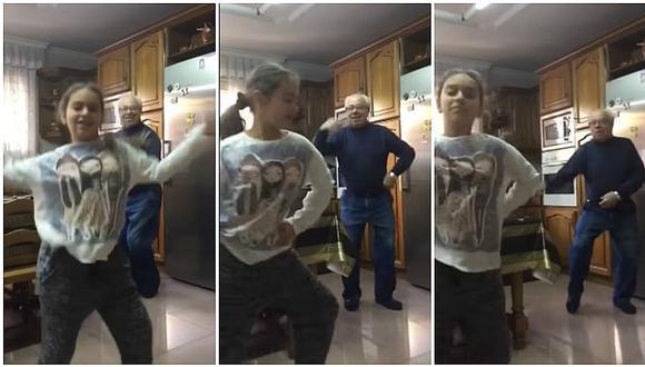 """YouTube: abuelito enloquece con """"Despacito"""" de Luis Fonsi y su baile lo es todo (VIDEO)"""