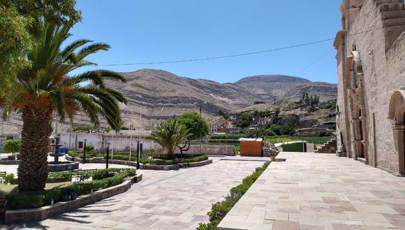 Pueblo de Yura Viejo. (Foto: Ingemmet)