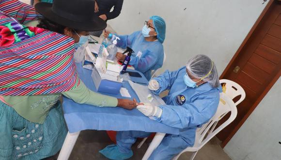 Pobladores de Pasco y Ayacucho recibieron más de 20 mil atenciones médicas (Foto: CCFFAA).