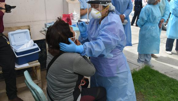 Apurímac: 15 mil pruebas antigénicas fueron aplicadas a la población para descarte del COVID-19 (Foto referencial: Diresa Apurímac)