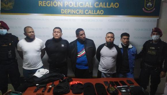 """Callao: Desarticulan banda criminal """"Los Popeyes de La Perla"""""""