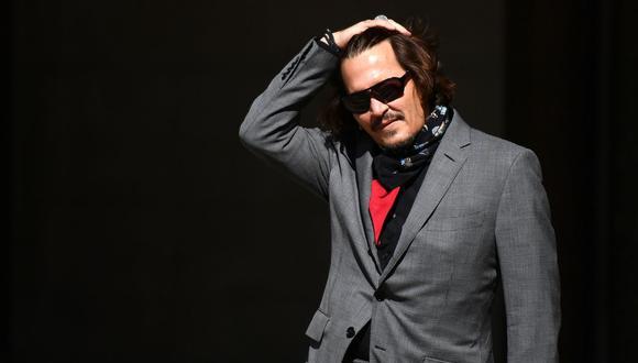 Johnny Depp intenta de nuevo apelar en caso de difamación contra The Sun. (Foto: AFP).