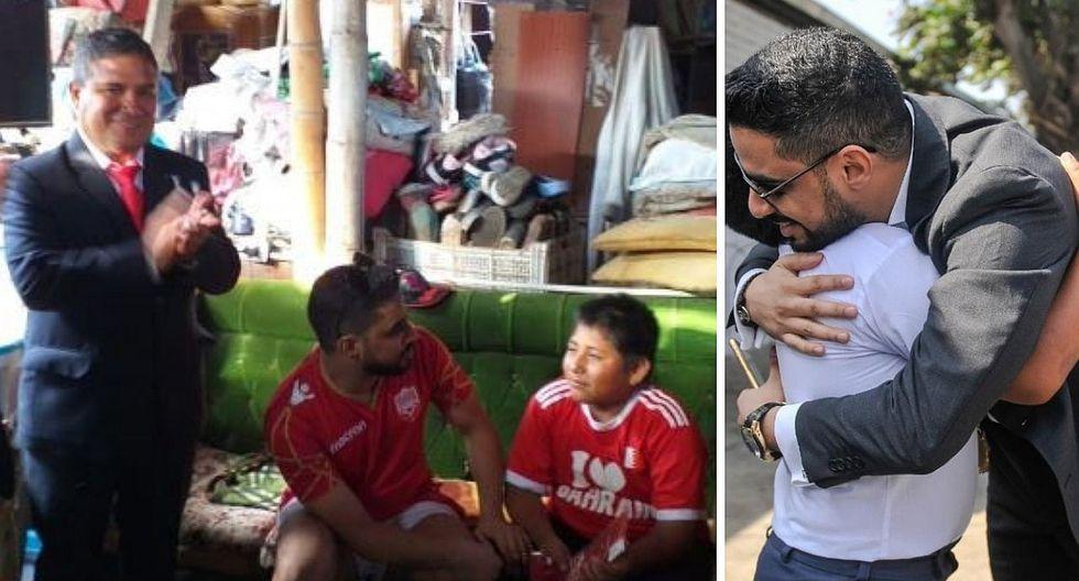 Municipio de Moche ofrece ayuda a empresario árabe en trámites para reconstrucción de colegio