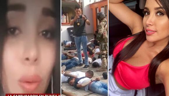 Colombiana Yury Hernández llora por regresar al Perú tras ser expulsada por estar en hotel de Punta Negra con banda criminal