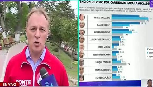 """Jorge Muñoz acusa de """"soberbios"""" a candidatos que lideran las encuestas (VIDEO)"""