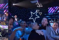 La loca reacción de La Carlota al ver cantar al Luis Miguel de Yo Soy    VIDEO