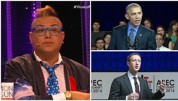 Carlos Cacho harto de que resguarden a Obama y a Zuckerberg y no capturen a delincuentes