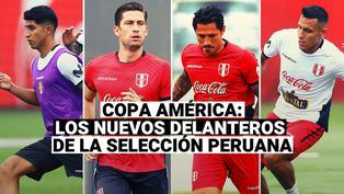 Selección Peruana: los nuevos delanteros de la Blanquirroja para la Copa América 2021