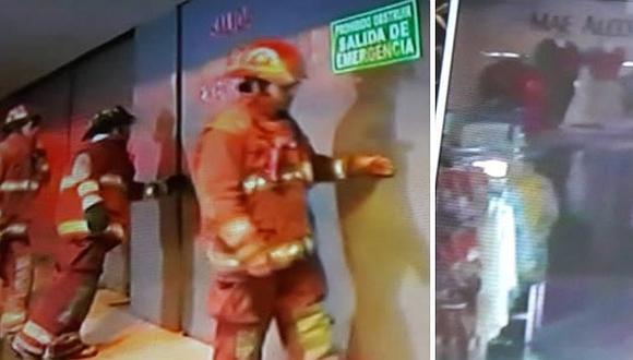 Cercado de Lima: Se incendia conocida tienda por departamento del Jirón de la Unión