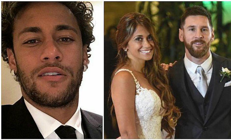 La boda de Messi y Antonella: Neymar Jr impuso la moda con elegante traje (FOTO)