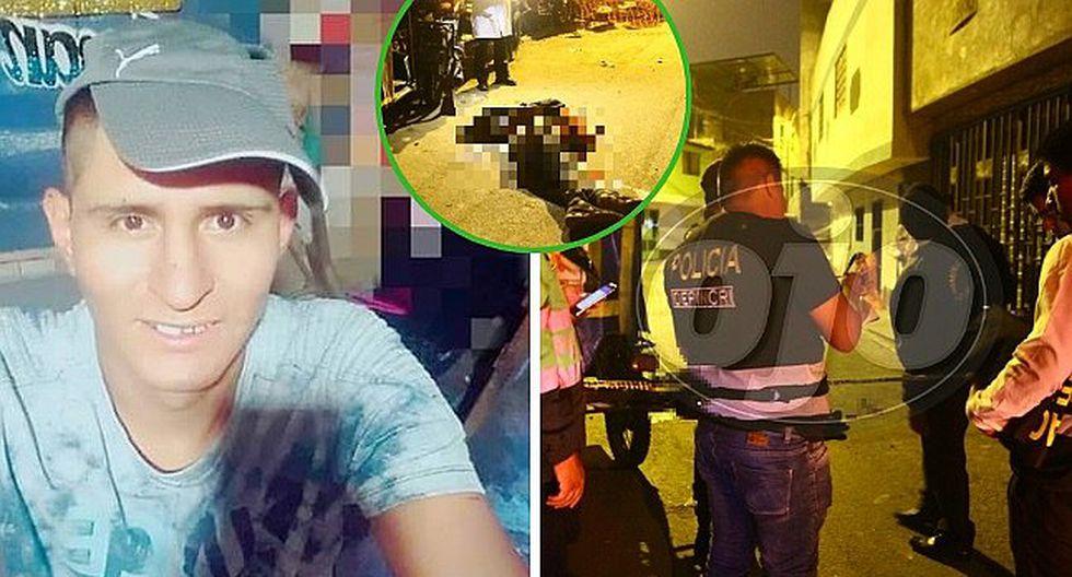 El Agustino: Matan a balazos a mototaxista cuando iba a buscar a su enamorada (FOTOS y VIDEO)