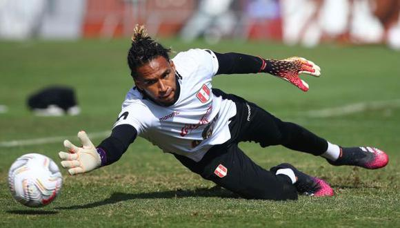 Pedro Gallese lamentó la goleada que recibió Perú ante Brasil. (Foto: FPF)