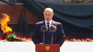 Rusia: Putin sostiene que los rusos guardarán la memoria y la verdad sobre la guerra