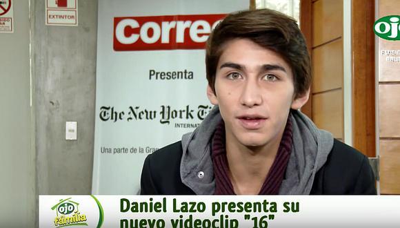 """Daniel Lazo feliz y presenta su nueva canción """"16"""""""