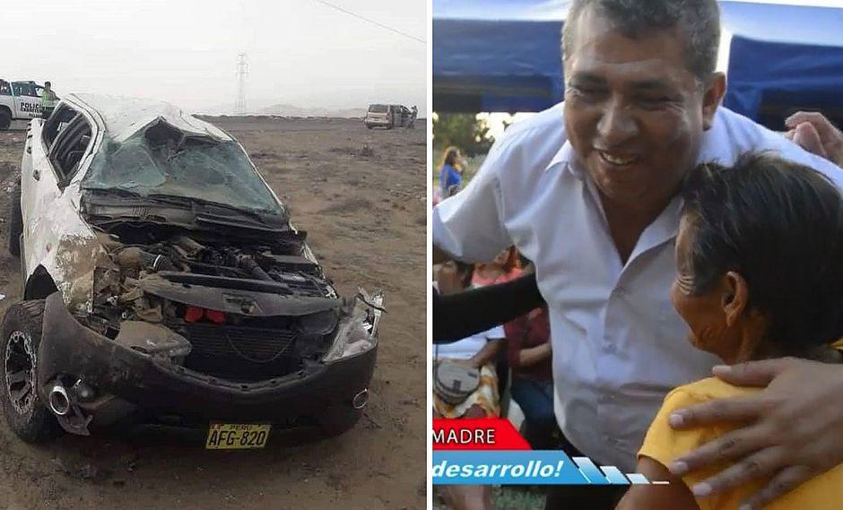 Alcalde de Chepén muere en brutal accidente vehicular