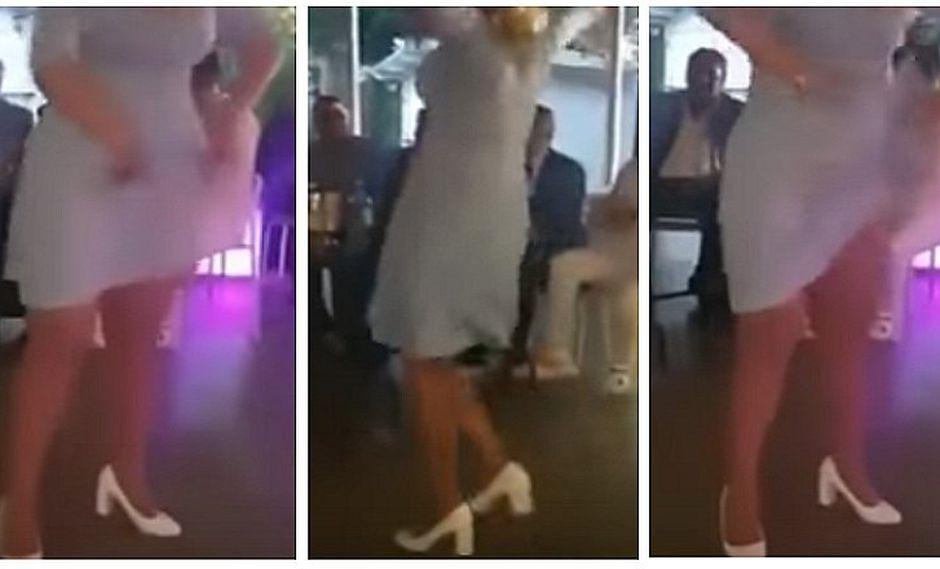 YouTube: no usar ropa interior le juega mala pasada a mujer bailarina (VIDEO)