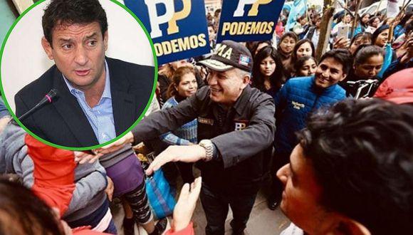 ONPE afirma que Podemos Perú no se inscribió con firmas falsas