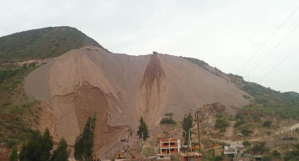 Roca se desprendió de una altura de cuatro metros y cayó en la cabeza del menor. (GEC)