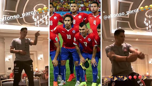 Selección chilena se relaja bailando reggaetón antes de enfrentarse a Perú (VIDEO)