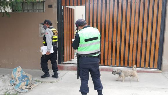 ¡De terror! Encuentran pie calcinado en patio de vivienda (Foto: PNP)