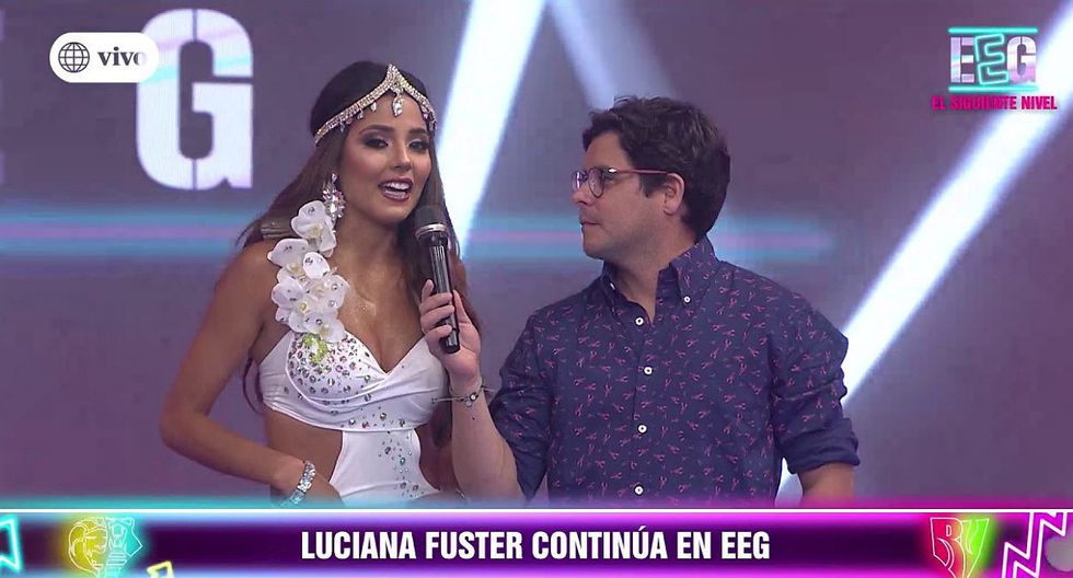 """""""Esto es guerra"""": Luciana Fuster abre su corazón y revela cuál es su verdadera relación con Ignacio Baladán. (Foto: Captura)"""