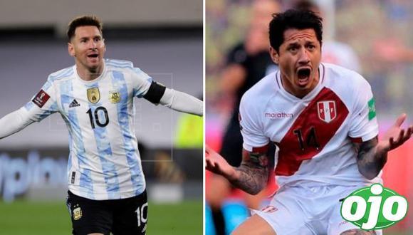 Perú vs. Argentina. Foto: (redes sociales).