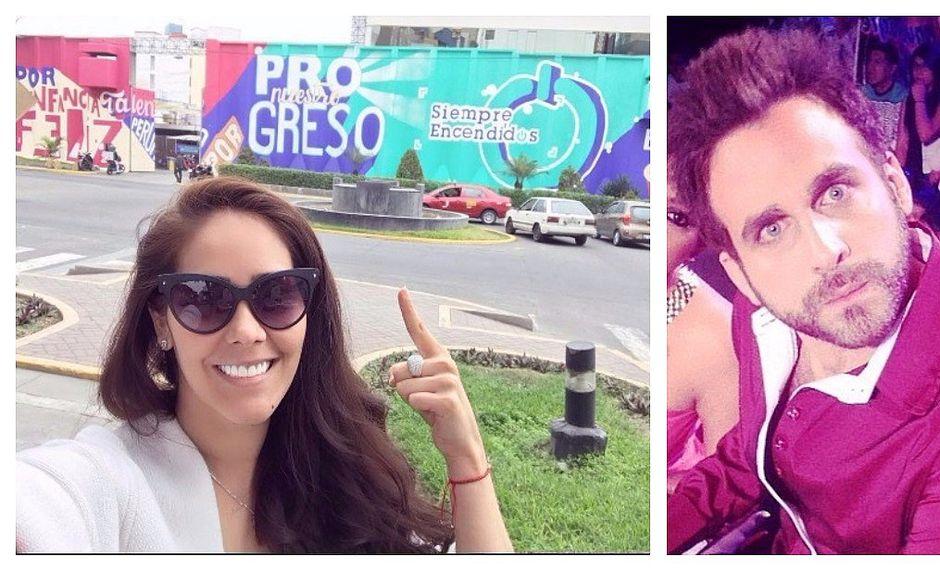 ¿Rodrigo González y Karen Schwarz estarán cara a cara en vivo?