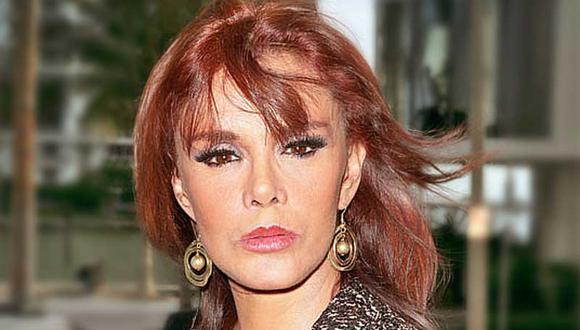 Lucía Méndez sufre desmayo y es llevada de emergencia a un hospital