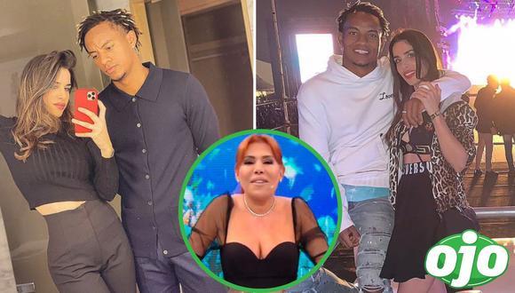 Magaly desmiente separación de André Carrillo y su esposa Suhaila. Foto: (Instagram/@suhailajad | Captura/ATV).