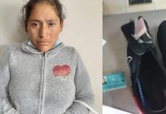 Mujer intentó ingresar con droga escondida en zapatillas a penal de Socabaya