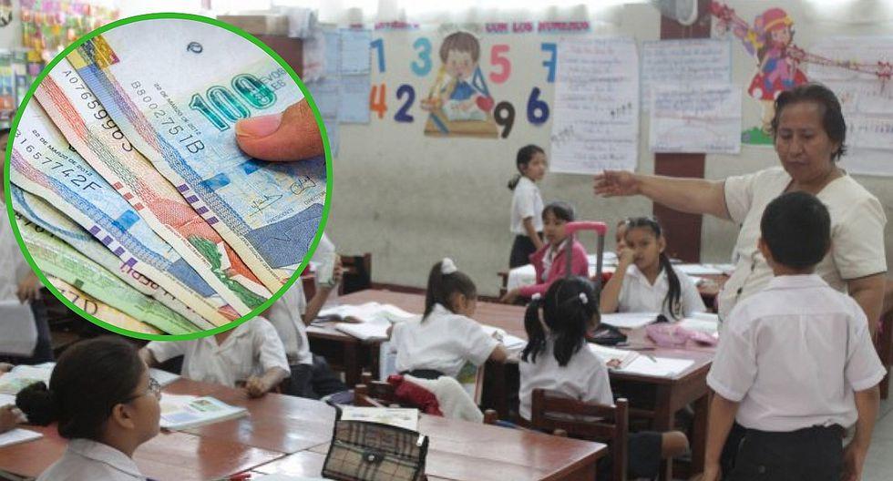 Más de 3 mil profesores recibirán bono de 18 mil soles | LISTA COMPLETA
