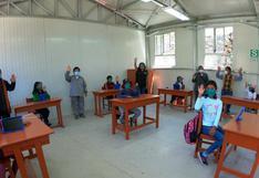 14 escuelas rurales iniciaron clases con protocolos de bioseguridad en Arequipa