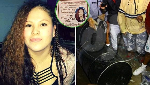 Marisol Estela Alva: realizan misa a un mes del asesinato del cilindro y no encuentran al asesino (FOTOS)