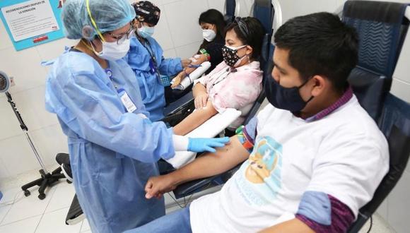 La jornada se desarrollará desde las 8:00 a.m. hasta las 3:00 p.m. en el banco de sangre, situado en la puerta 2, en el cruce de las avenidas 200 Millas y Pastor Sevilla, en Villa El Salvador. (Foto: Ministerio de Salud)