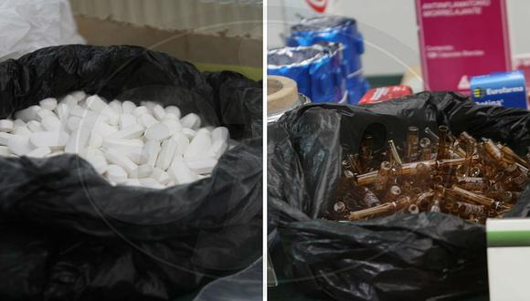"""Cae banda que producía pastillas """"bambas""""  en Puente Piedra (FOTOS)"""