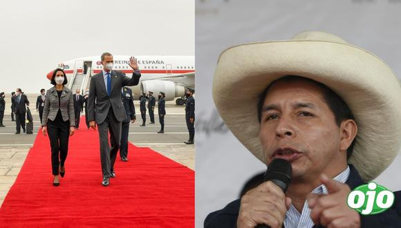 Rey Felipe VI de España llega al Perú para juramentación de Pedro Castillo