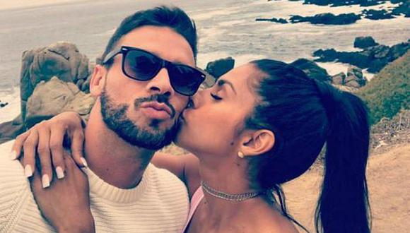 ¡Pura sensualidad! Ámbar Montenegro posó junto a su novio de forma muy sexy