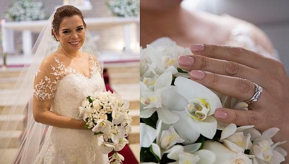 Milagros Leiva revela lo que faltó en su boda soñada