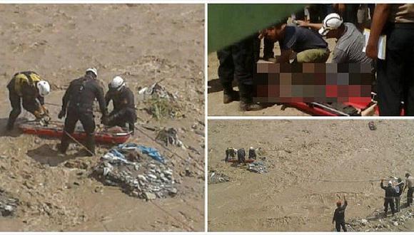 SMP: encuentran cuerpo de hombre que cayó al río Chillón (VIDEO)