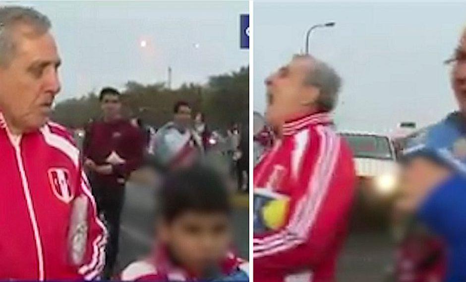 Niño pone en aprietos a reportero que le preguntó cómo gritaría gol de Perú | VIDEO