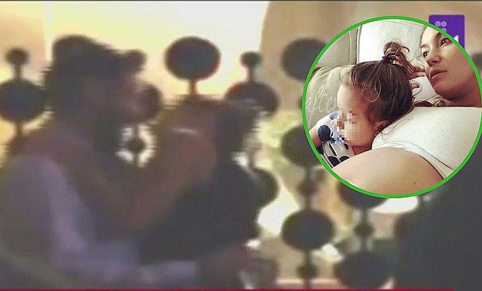 Miguel Hidalgo es ampayado con bella jovencita cuando Tilsa Lozano estaba a punto de dar a luz (VÍDEO)