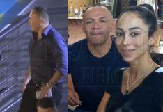 Tilsa Lozano es ampayada con pareja de Olinda Castañeda | VIDEO