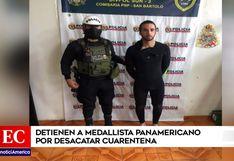 Medallista panamericano, Tamil Martino, fue detenido por surfear en plena cuarentena