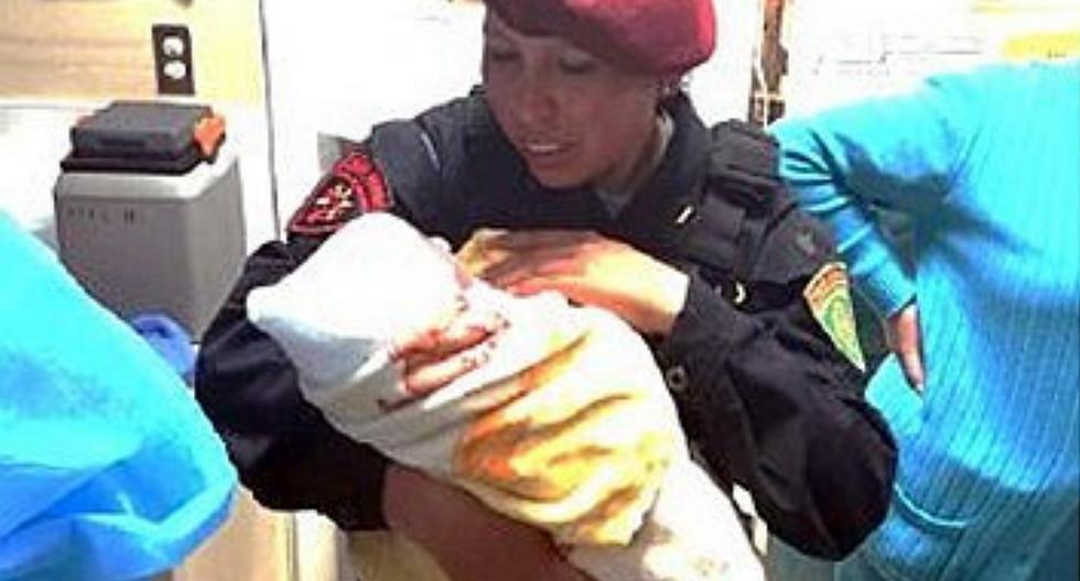 Bebita recién nacida es abandonada en baño de colegio en Cusco (FOTO)