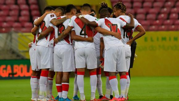 El mensaje de la selección antes del Perú vs. Argentina por las Eliminatorias. (Foto: AFP)