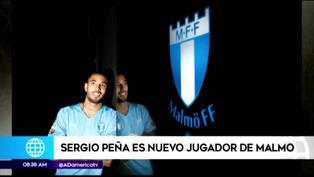 Oficial: Sergio Peña fue presentado como el flamante fichaje del Malmö FF
