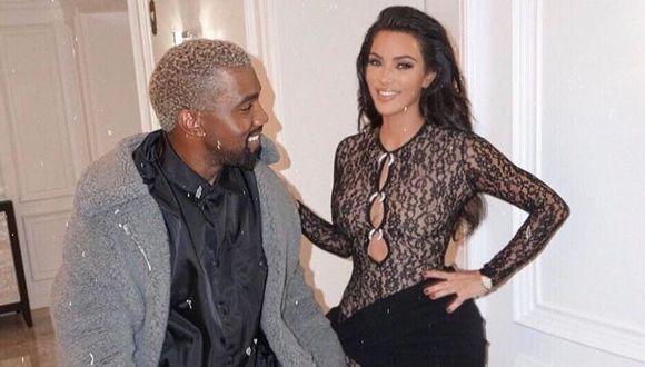 Kim Kardashian y Kanye West demandarían por US$10 millones a su exguardaespaldas por hablar de ellos. (Foto: @kimkardashian)